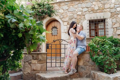 Фотосессия пары в Тоссе