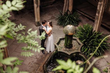 Фотосъемка в готическом квартале для Анастасии и Романа