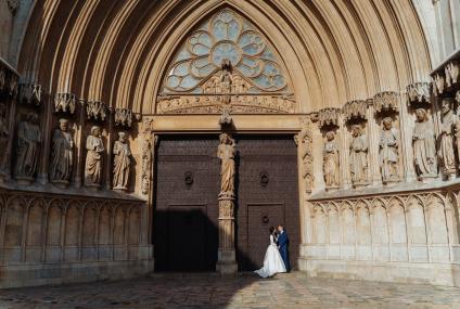 Wedding photoshoot in tarragona