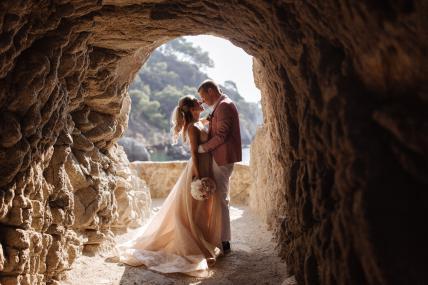 wedding photoshoot in barcelona