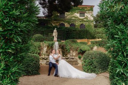 Фотосессия в садах святой клотильды